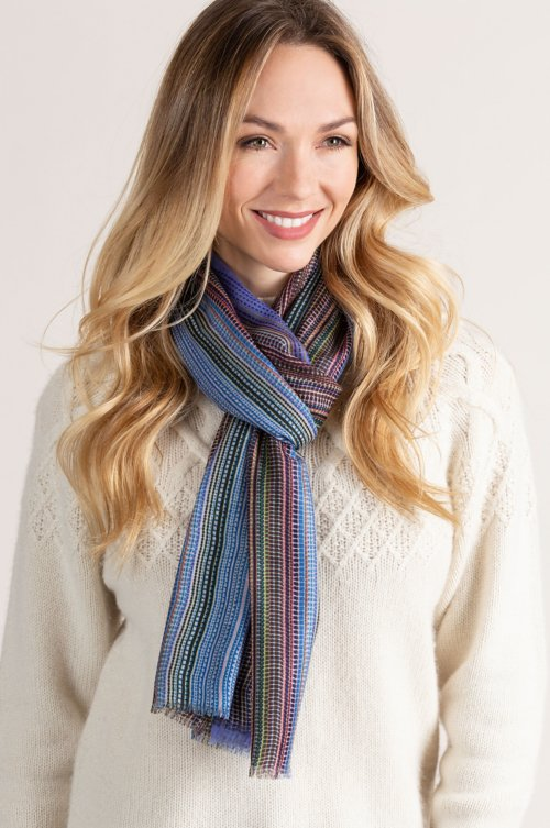 Ultralight Printed Cashmere Scarf
