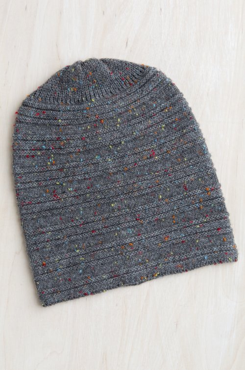 Speckled Merino Wool Beanie Hat