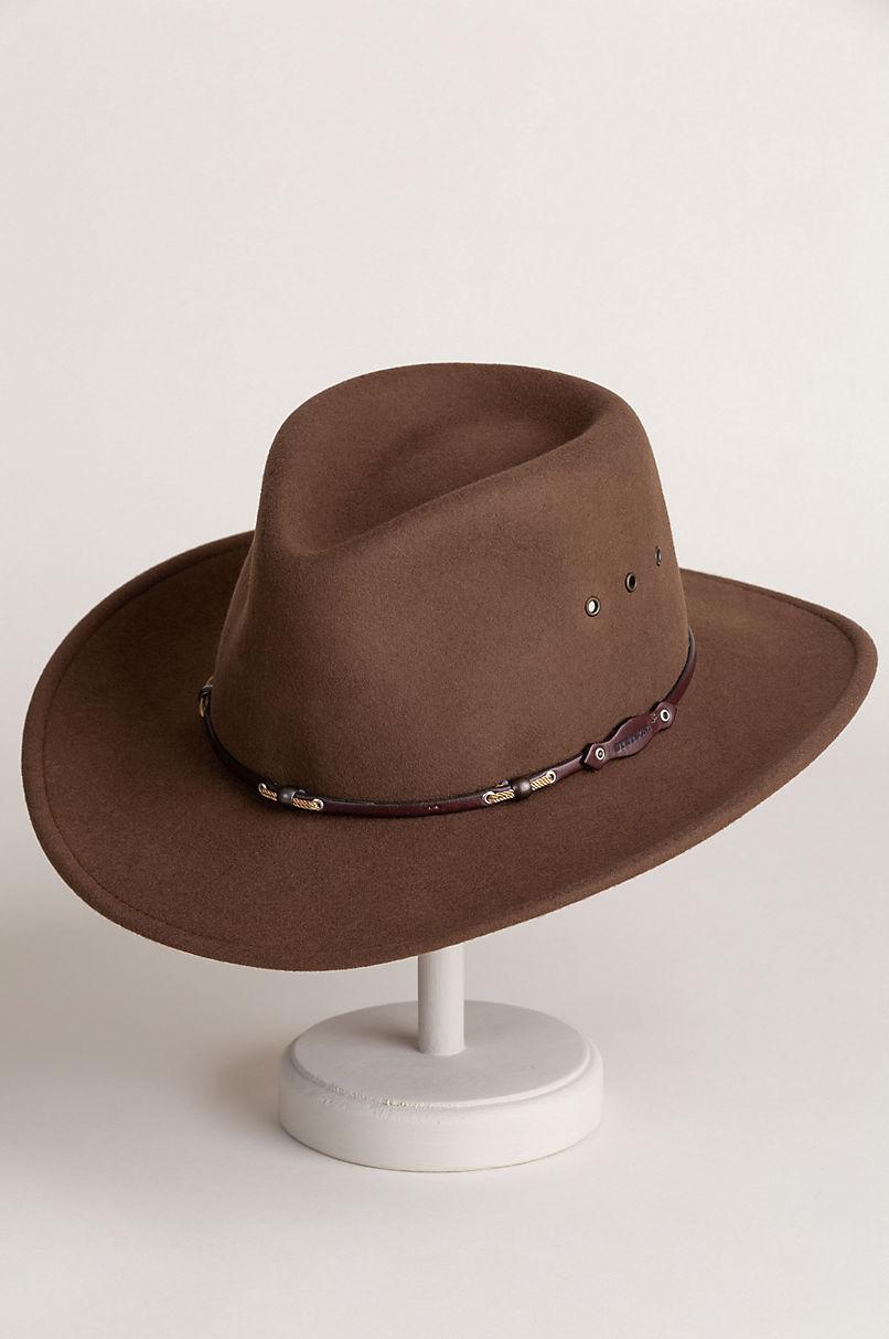 Stetson Wildwood Crushable Wool Cowboy Hat