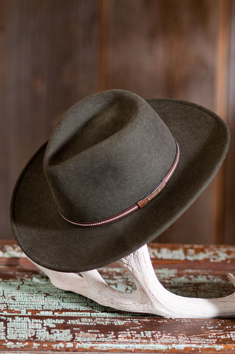 Men s Gallatin Wool Stetson Hat  d8bd32ef4a99