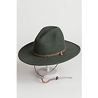 1950s Mens Hats | 50s Vintage Men's Hats Stetson Lonesome Trail Crushable Wool Cowboy Hat $85.00 AT vintagedancer.com