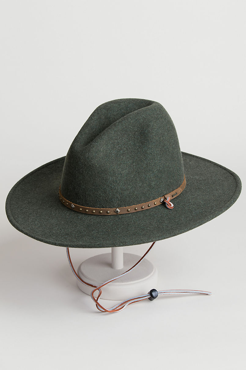 147f3d78f08 Stetson Lonesome Trail Crushable Wool Cowboy Hat