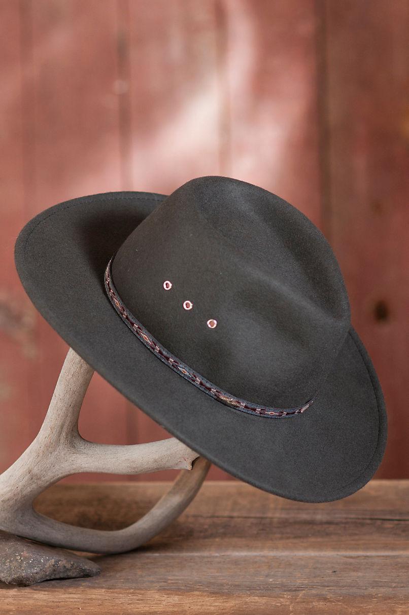 c174e88ade553 Men s Stetson Elkhorn Crushable Wool Hat