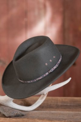 Men s Stetson Elkhorn Crushable Wool Hat  0af5e94a8db