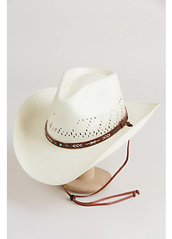 Stetson Santa Fe Straw Cowboy Hat