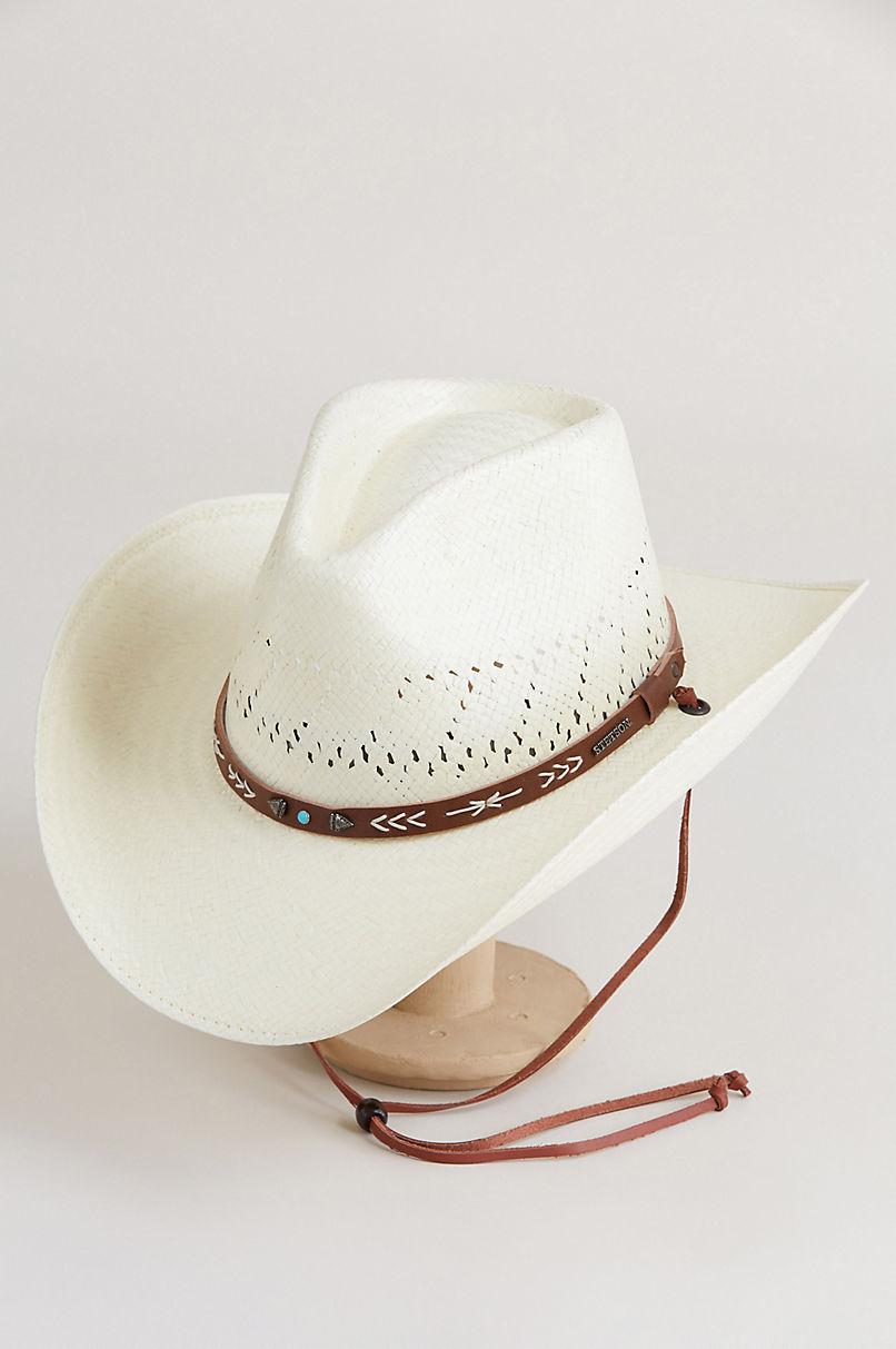 Stetson Shantung Gus Straw Cowboy Hat  4009b007524e