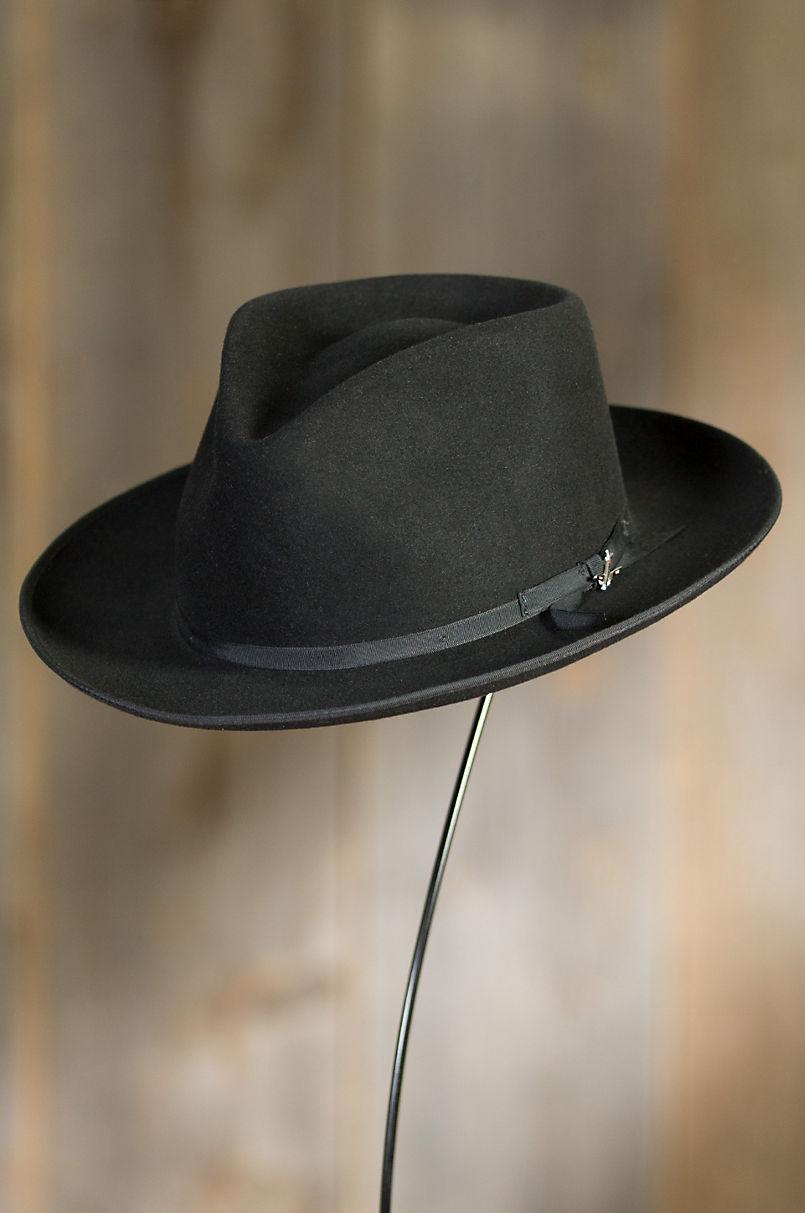 eb9cbb59d00 Stetson Stratoliner Fur Felt Gambler Hat