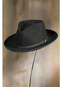 Stetson Stratoliner Fur Felt Gambler Hat