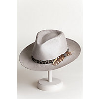 Carlos Santana West Toyo Straw Fedora Hat