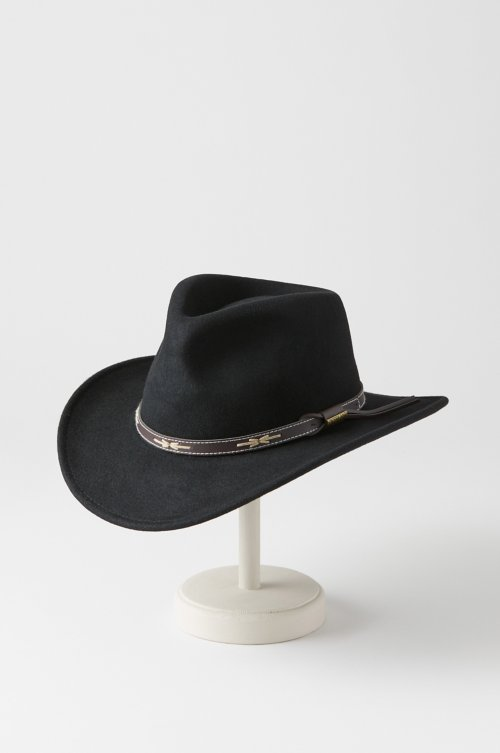 1d56ce2742b Overland Teton Crushable Wool Cowboy Hat
