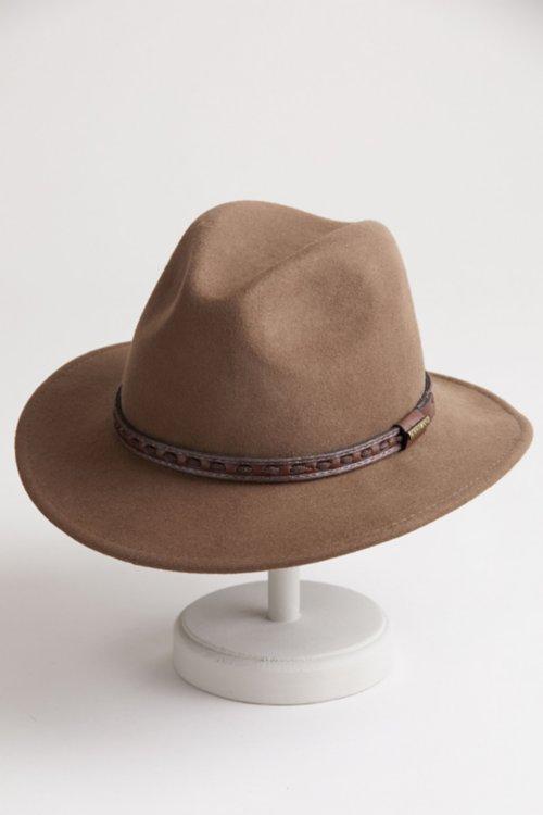 dff33915af1 Overland Sierra Crushable Wool Safari Hat