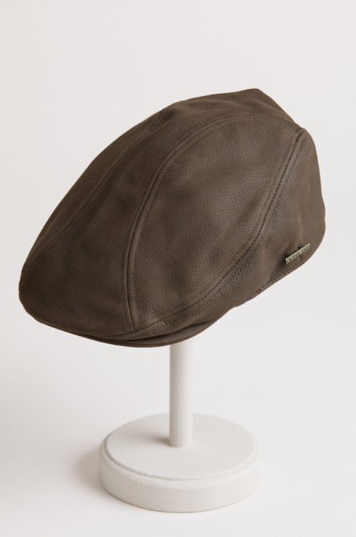 Oily Timber Leather Ivy Cap