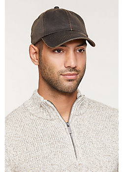 Weathered Cotton-Blend Baseball Cap