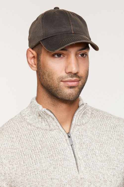 Overland Weathered Cotton-Blend Baseball Cap