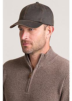 Weathered Cotton Baseball Cap