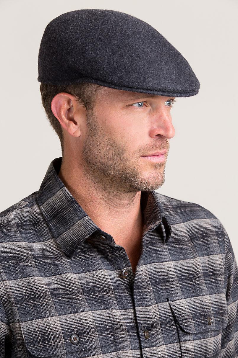 90b8a9803d0 Crushable Wool Felt Ascot Hat
