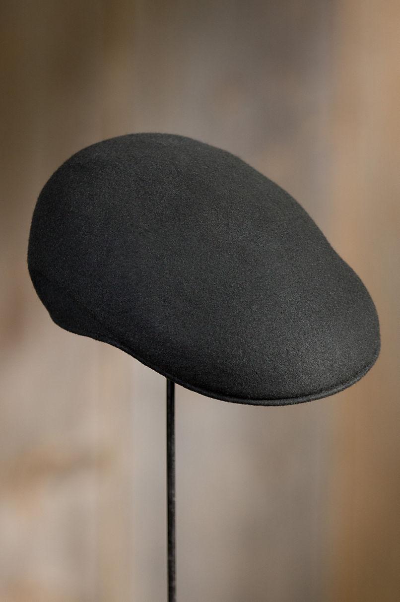 Crushable Wool Felt Ascot Hat