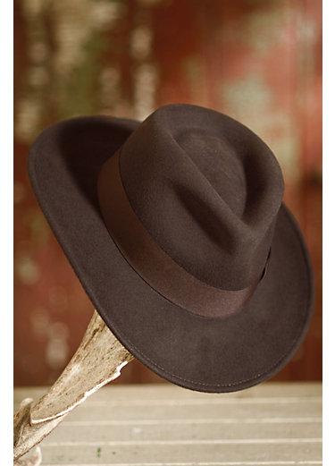 Indiana Jones Crushable Wool Fedora Hat
