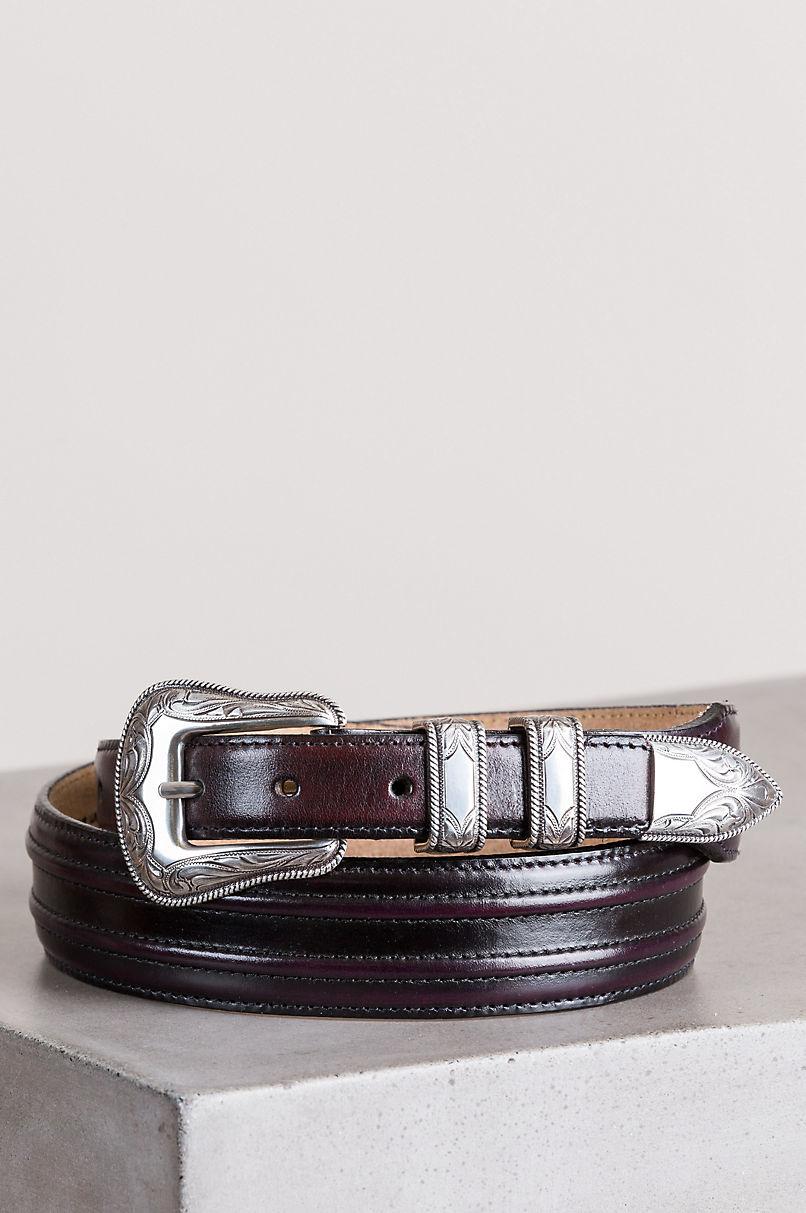 Cherry Creek Western Leather Belt