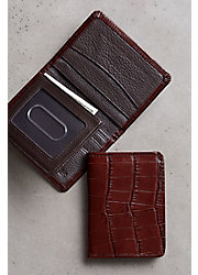 Rockefeller Leather Billfold Wallet