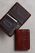 Rockefeller Leather Billfold Wallet