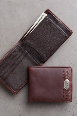 Cape Verde Leather Billfold Wallet