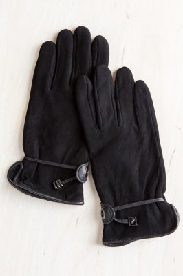 Women's Fleece-Lined Deerskin Driver's Gloves
