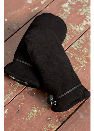 Women's Ali Deerskin Suede Leather Mittens