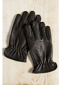 Men's Deerskin Leather Driving Gloves