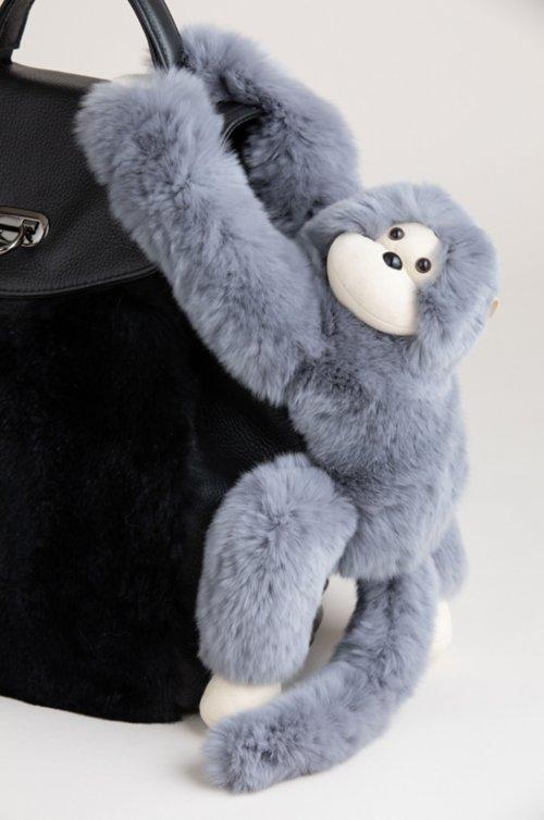 Magnetic Rex Rabbit Fur Monkey