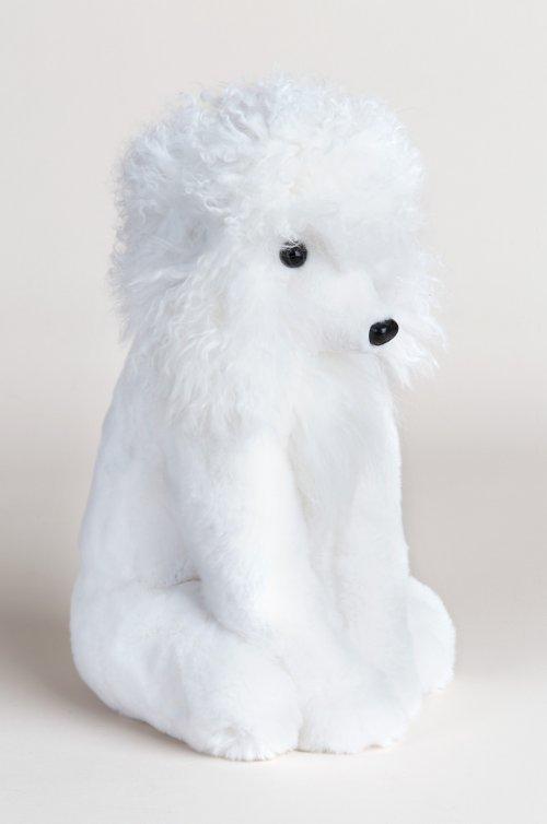 Blanc Rex Rabbit Fur Poodle