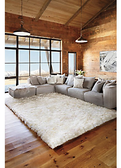 Overland 8' x 11.5' Premium Australian Sheepskin Rug
