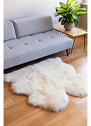 Overland 2-Pelt Side-by-Side Australian Sheepskin Rug