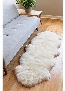 Overland 2-Pelt End-to-End Australian Sheepskin Rug