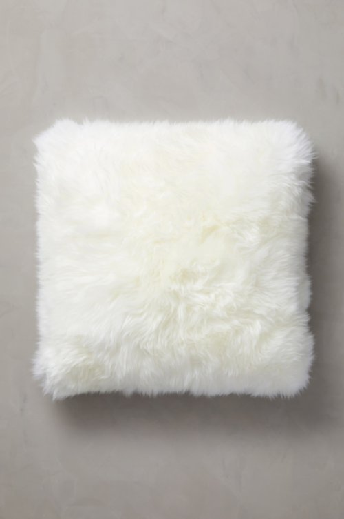 "24"" x 24"" Single-Sided Australian Sheepskin Pillow"