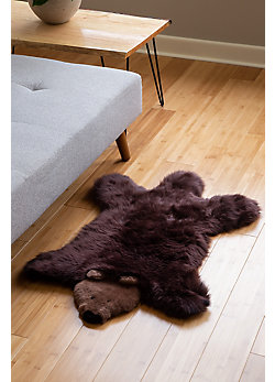 Overland Children's Polar Bear Australian Sheepskin Rug