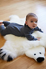 Overland Teddy Bear Australian Sheepskin Rug