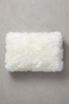 "Overland 24"" x 16"" Single-Sided Australian Sheepskin Pillow"