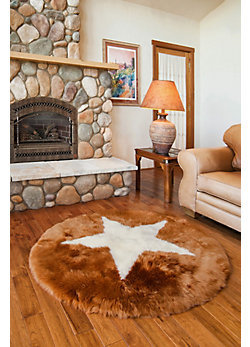 Overland Star Australian & New Zealand Sheepskin Rug
