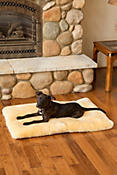 Overland Large Australian Sheepskin Shearling Pet Bed