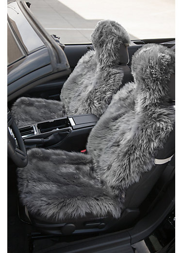 Universal Long Wool Sheepskin Car Seat Cover