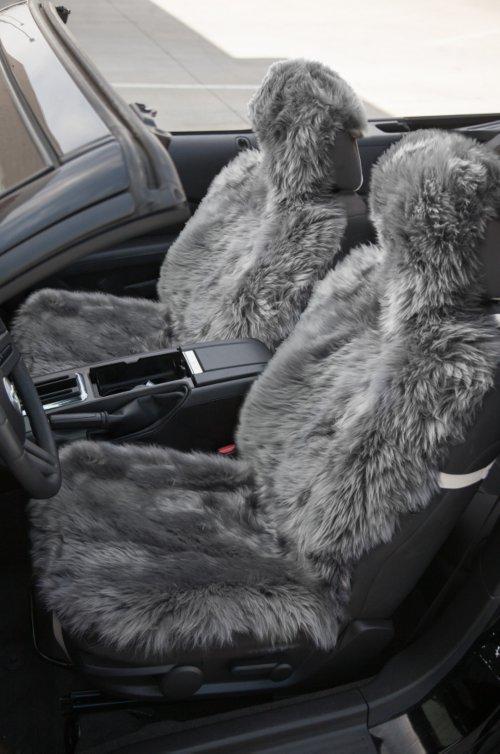 Universal Long Wool Sheepskin Car Seat Cover