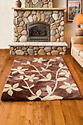 Overland 5' X 7' Branches Premium Australian and New Zealand Sheepskin Rug