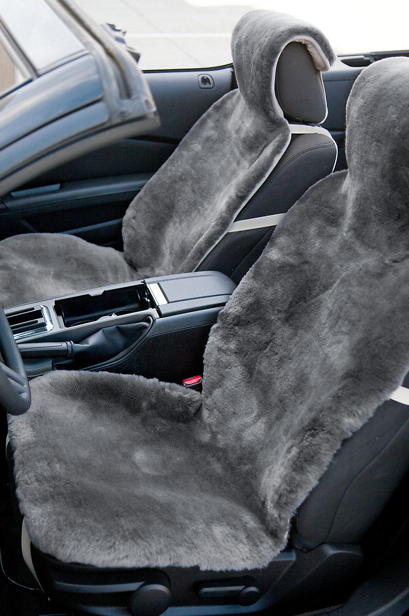 Universal Sheepskin Car Seat Cover - Sheepskin Car Accessories ...