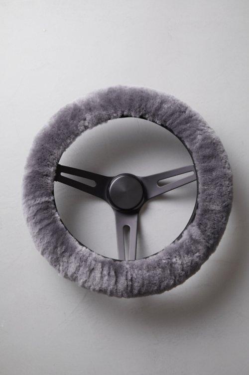 Universal Matching Sheepskin Steering Wheel Cover