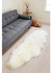 Overland 2-Pelt End-to-End Icelandic Sheepskin Rug