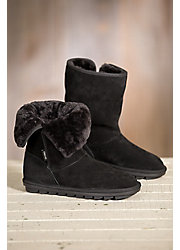 Women's Overland Angie Shearling-Lined Suede Boots