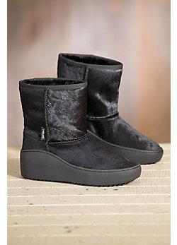 Women's Overland Daisy Shearling-Lined Calfskin Boots