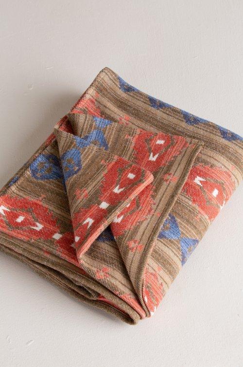 Jacquard Brushed Cotton Throw Blanket