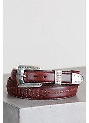 Salina Taper Leather Belt